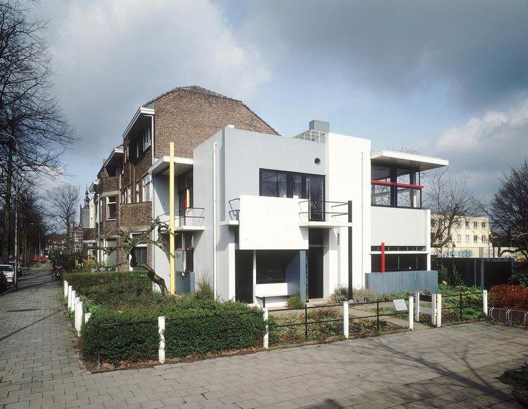 Het Rietveld Schröderhuis. Beeld Pictoright, Amsterdam