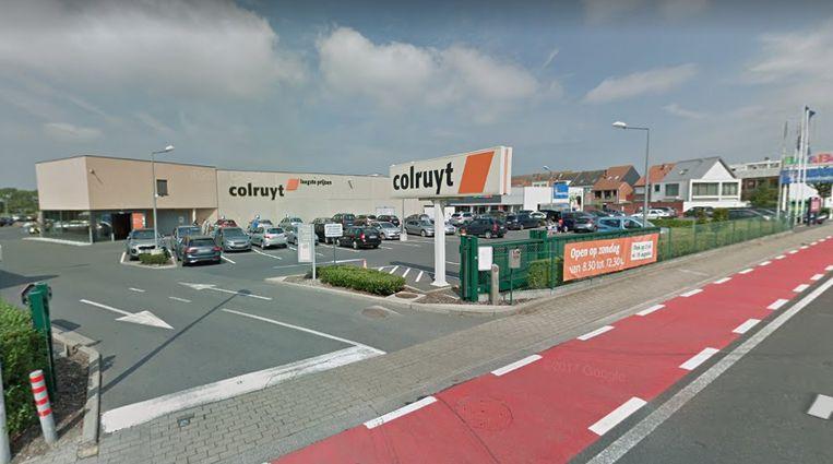 Het Colruyt-filiaal in de Torhoutsesteenweg in Oostende.