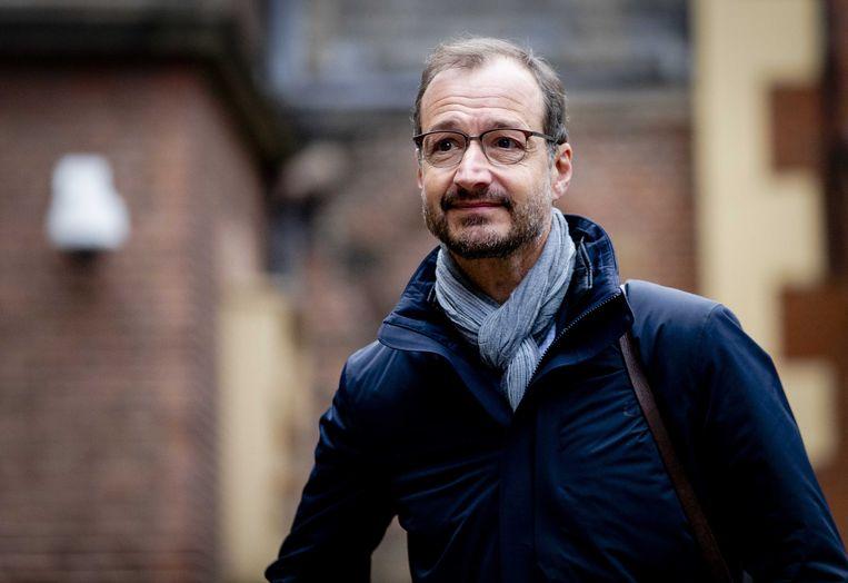 Minister Wiebes  van Economische Zaken  op het Binnenhof.  Beeld ANP - Sem van der Wal