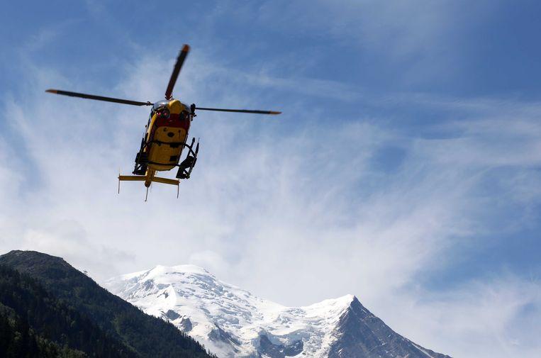 Een reddingshelikopter, beeld ter illustratie.