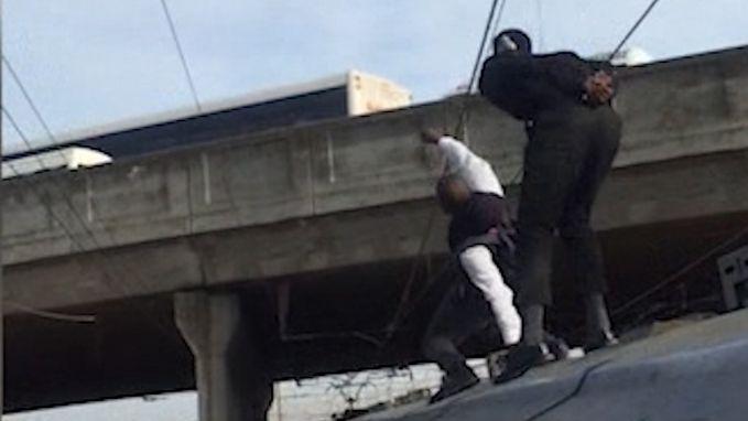 Treinsurfen: jongeren riskeren hun leven voor gevaarlijke stunt