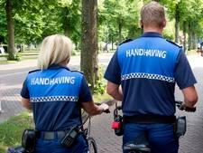 Jongemannen aangehouden na uitschelden handhavers