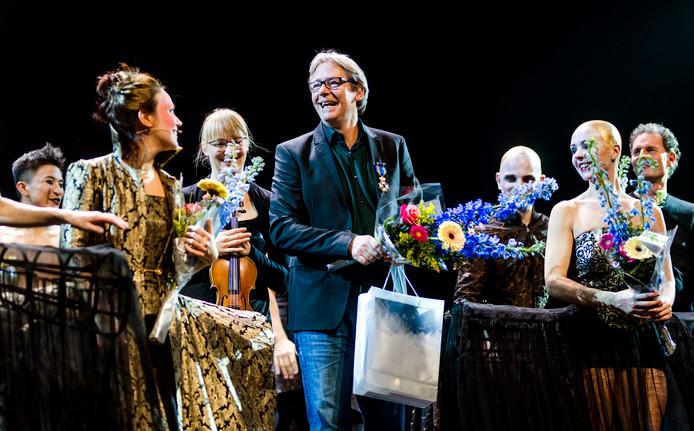Ed Wubbe van het Scapino ballet heeft vanavond een koninklijke onderscheiding ontvangen.