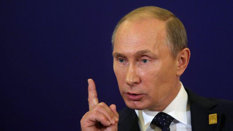 Poetin Beeld EPA
