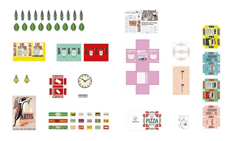 Print en knip het uit. Wil je weten waar dingen op deze foto van gemaakt zijn? Kijk op www.hetmuizenhuis.nl/parool. Beeld