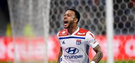 Depay na anderhalve maand zonder goal weer trefzeker voor Olympique Lyon