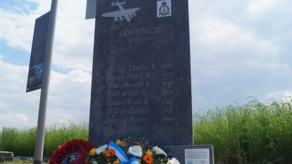 Gesneuvelde piloten en verzetslieden uit Tweede Wereldoorlog herdacht in Lichtervelde
