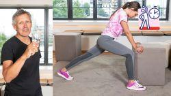 Lieven Maesschalck geeft je oefeningen om in 3 weken fit te raken. Neem deel aan de Fit 4 Summer-challenge