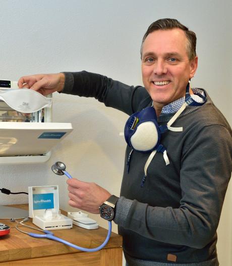 Moordrechts bedrijf merkt 'explosieve' vraag naar apparaat dat mondkapjes ontsmet met uv-licht