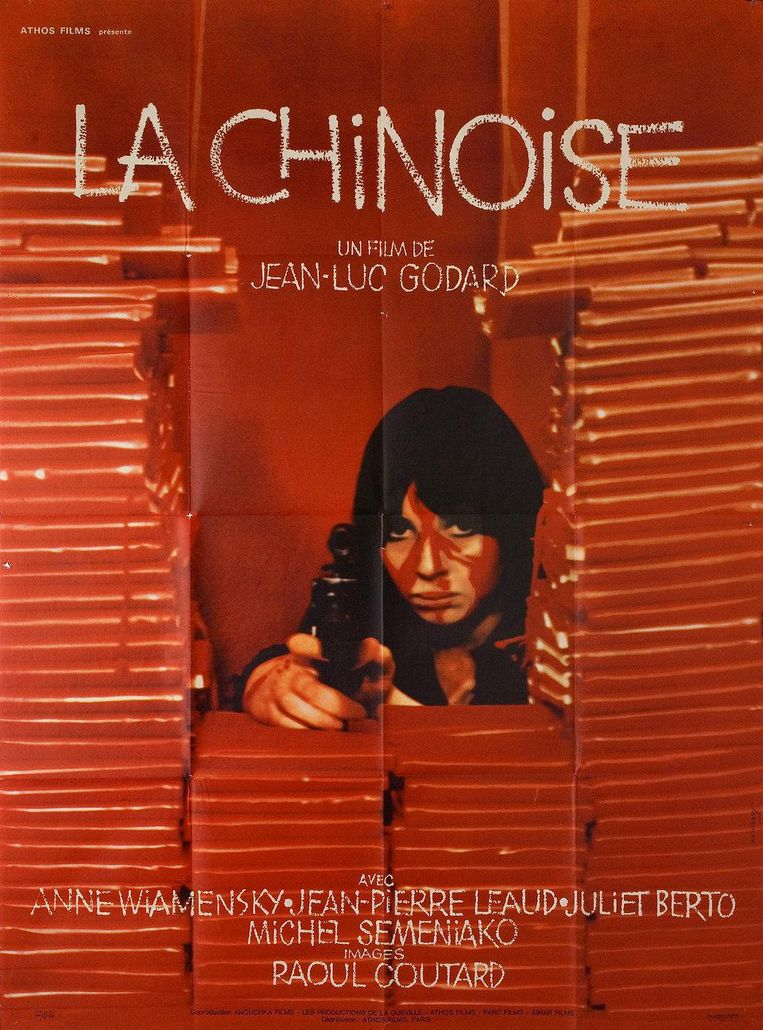 Affiche voor La Chinoise (1967) Beeld