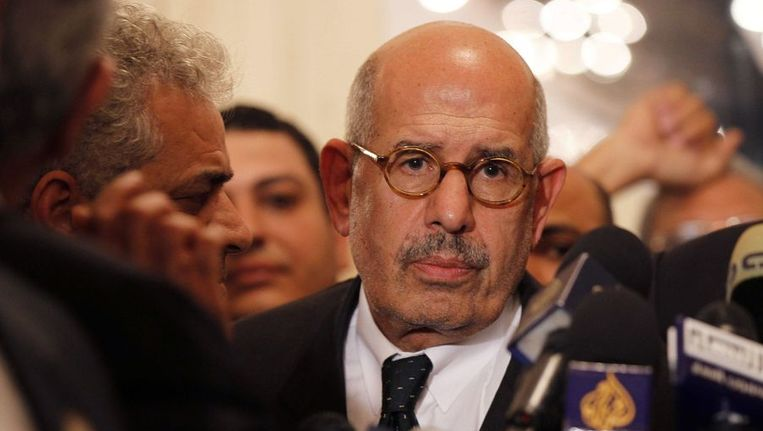 Mohamed ElBaradei Beeld ANP