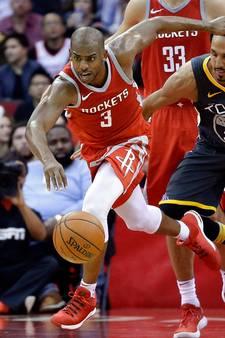 Houston Rockets stopt zegereeks NBA-kampioen Warriors