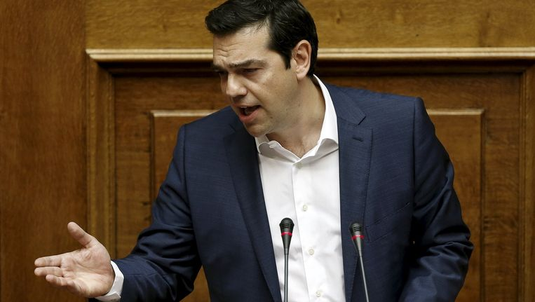 Alexis Tsipras Beeld reuters