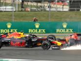 Botsing met Vettel kost Verstappen topklassering, Hamilton wint