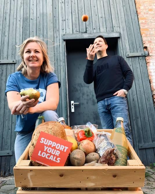 De foodbox in Zeeuws-Vlaanderen.