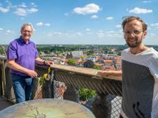 Coronaproof de toren van de Lebuinus in Deventer op: 'Uitzicht was nog nooit zo mooi'