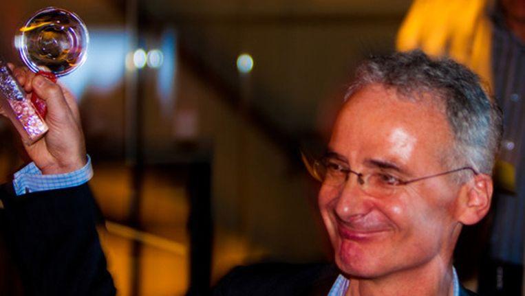 Bas Soetenhorst wint de Loep prijs 2011. ©Het Parool/Peter van Nobelen Beeld
