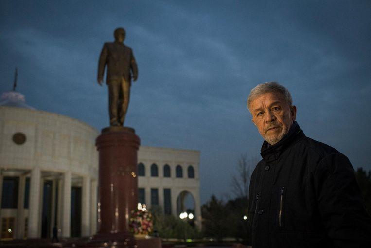Schrijver Mamadali Machmoedov werd opgesloten en gemarteld tijdens de dictatuur van Islam Karimov. 'Ik had tegen de verkeerde persoon gezegd dat ik tegen Karimovs beleid was.' Beeld null