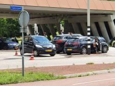 Gewonde bij aanrijding met drie auto's in Harderwijk