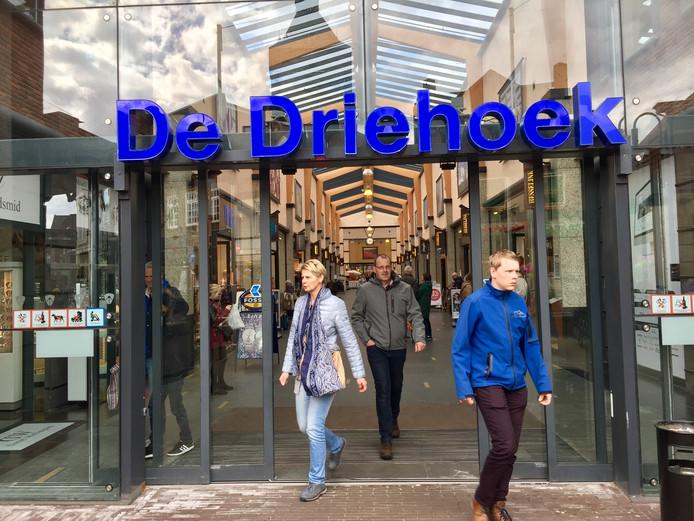 Winkelcentrum Driehoek in Oldenzaal