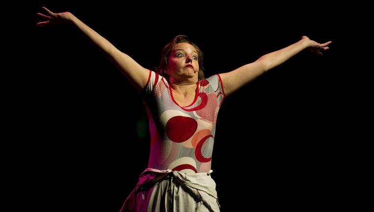 Cabaretière Sanne Wallis de Vries gaat begin 2017 het theater in met haar zesde solovoorstelling. Beeld ANP