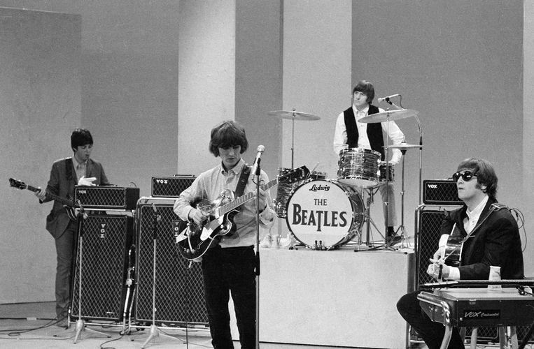 The Beatles zijn flink gezakt in de nieuwste uitgave van de lijst Beeld CBS/Getty Images