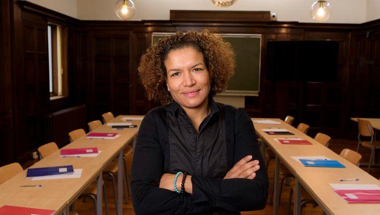 Lucia Rijker. Beeld Wim Kluvers