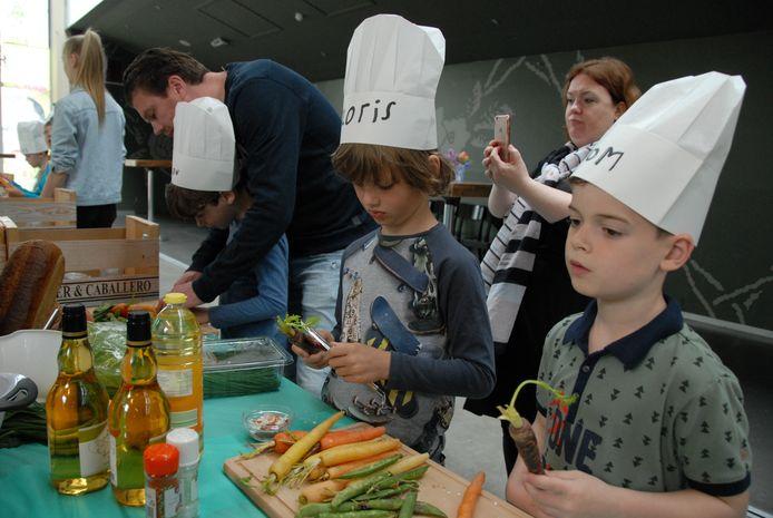 De workshop 'Hemelse picknick' in de Verkadefabriek in Den Bosch is een van de activiteiten in het kader van het City Food & Film Festival.