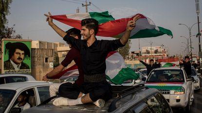 """""""Grote meerderheid zegt ja tegen Koerdische onafhankelijkheid"""""""