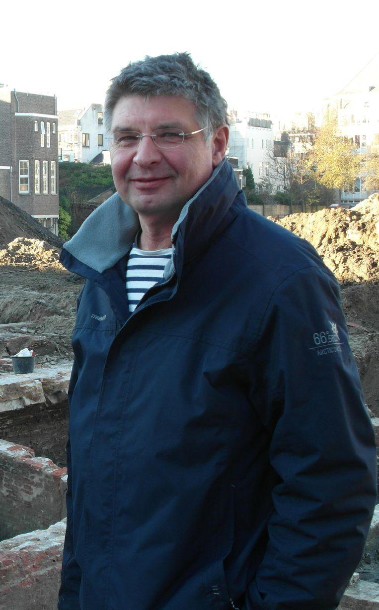 Jerzy Gawronski: 'De Amstel was twaalf meter diep. We gingen dwars door de rivierbedding heen' Beeld Jan van Reenen