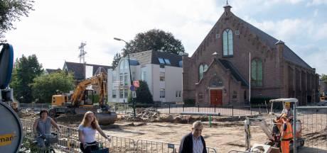 Grote scheuren in Veenendaalse kerk door werkzaamheden in de wijk