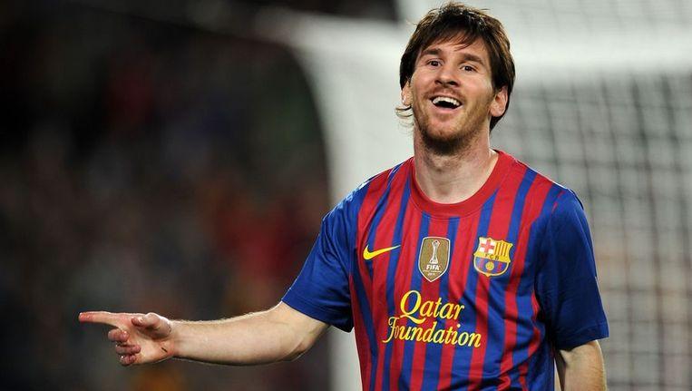 Lionel Messi, topscorer Champions League 2011/2012. Beeld null