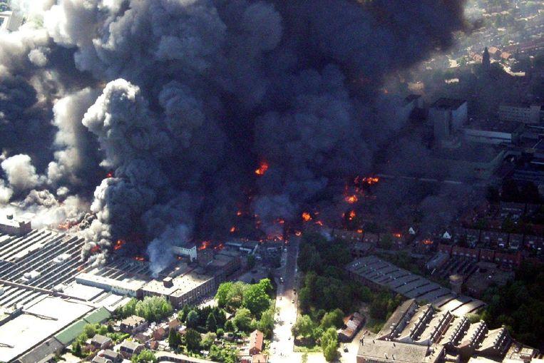 Vuurwerkramp in Enschede. (ANP) Beeld