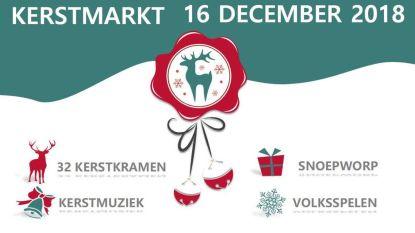 Kerstmarkt op het Gemeenteplein