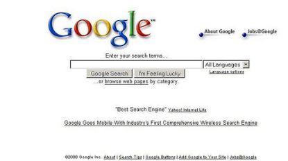 Zoekmachine van Google bestaat 20 jaar: niet de eerste, wel de beste