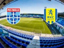 LIVE | PEC Zwolle treft hekkensluiter RKC