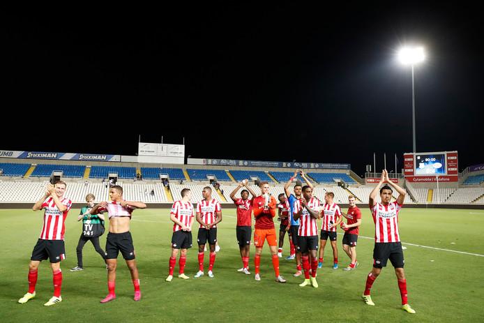 PSV bereikte onlangs op Cyprus de groepsfase van de Europa League.