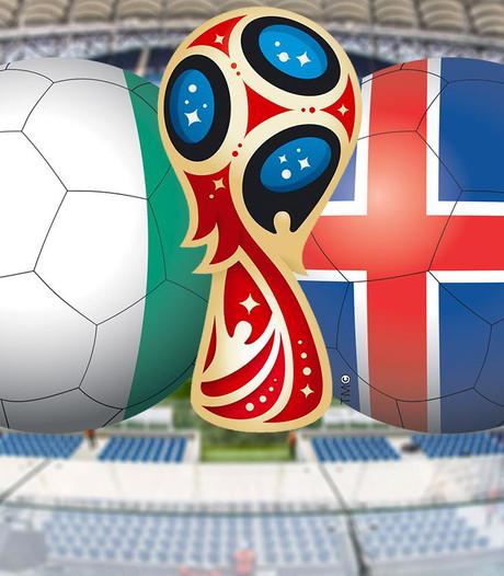Nigeria kan zich tegen IJsland geen verlies permitteren