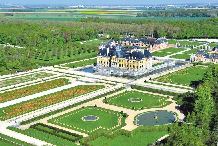 Het kasteel van Vaux-le-Vicomte: het meest indrukwekkende 17de-eeuwse kasteel van de hele regio.