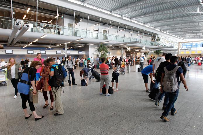 De terminal van Eindhoven Airport (archieffoto).