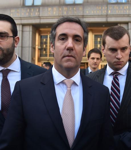 'Voormalig Trump-vertrouweling Michael Cohen gaat fraude bekennen'