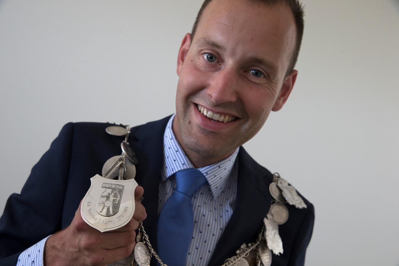 De huidige koning Rik Booltink.