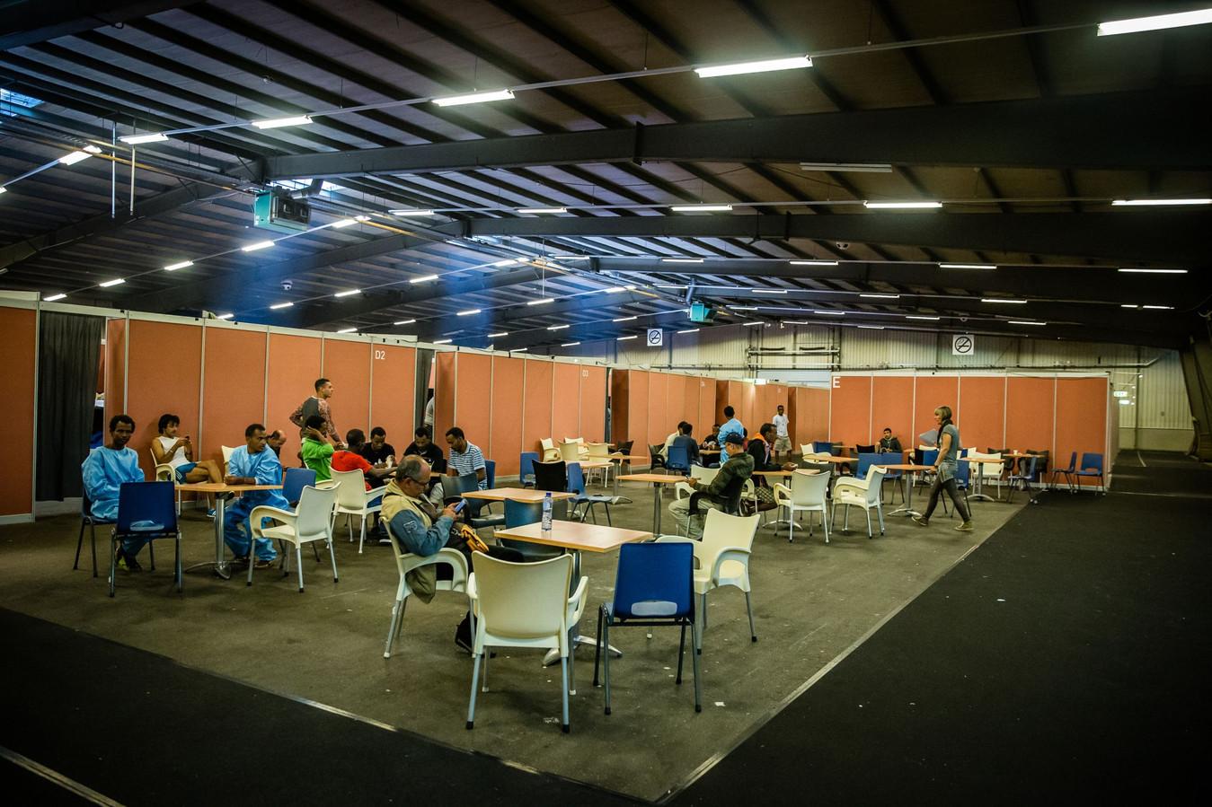 Goes vond een paar jaar geleden ook al tijdelijk vluchtelingen op in de Zeelandhallen.