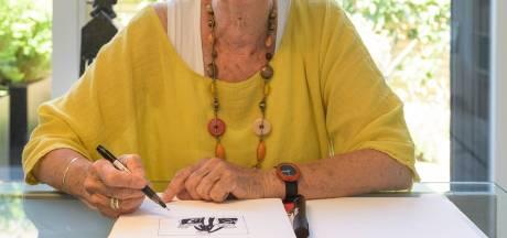 Oma Beatrix tekent coronaboekje voor kleinzoon Quin (3)