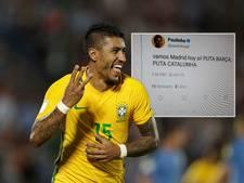 Paulinho flink onder vuur bij fans Barcelona