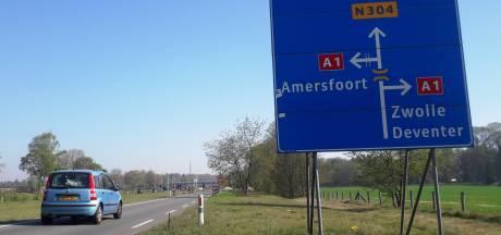 Op- en afritten A1 bij Ugchelen gaan paar nachten dicht