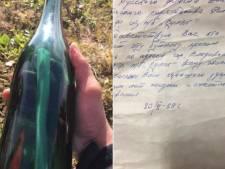 50 ans après, il retrouve une bouteille jetée à la mer
