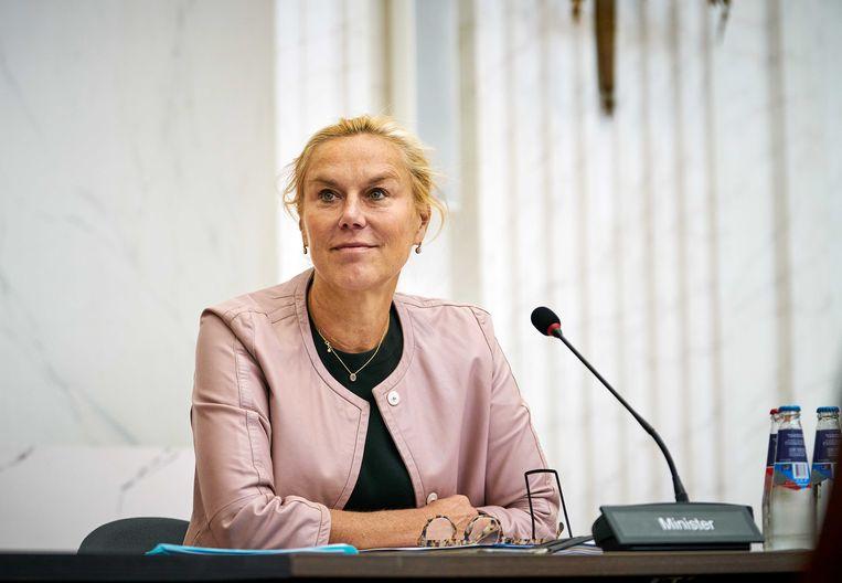 Minister Sigrid Kaag voor Buitenlandse Handel en Ontwikkelingssamenwerking. Beeld ANP/Phil Nijhuis