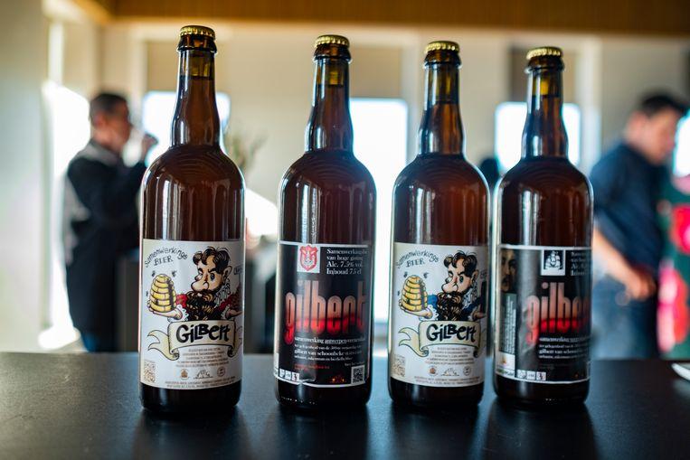 Het Gilbert-bier wordt in maart officieel voorgesteld.