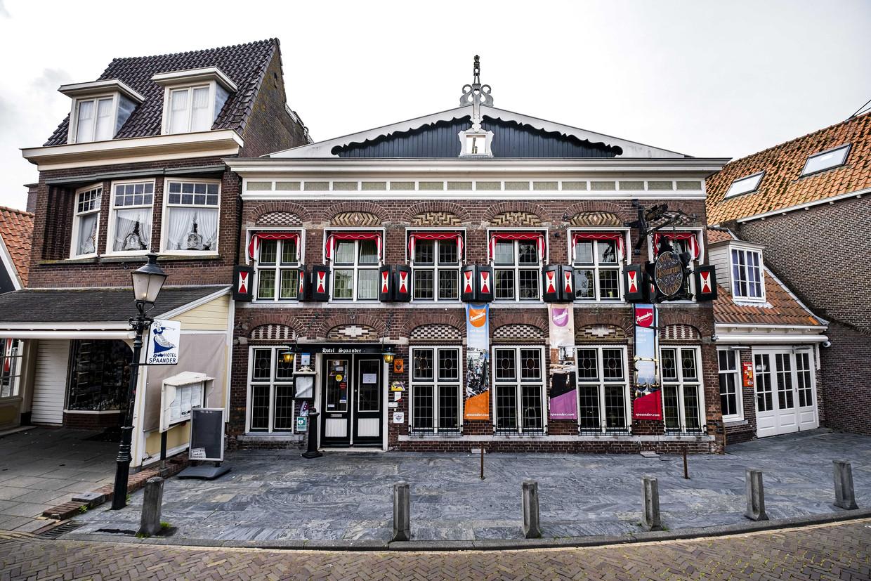 Art Hotel Spaander aan de Haven in Volendam. Beeld ANP